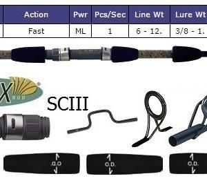 St Croix Surf Rod, Custom